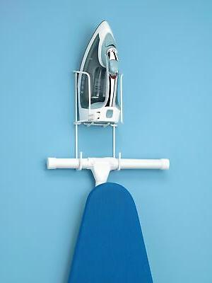 Over the Door Or Wall Ironing Board Hanger Space Saver Home