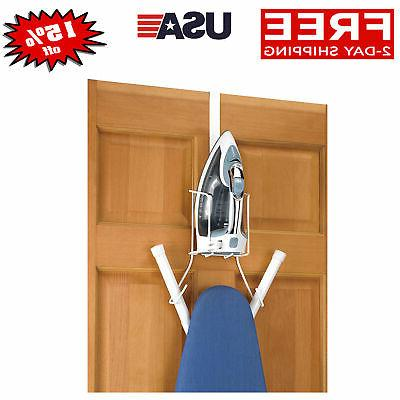 over the door or wall ironing holder