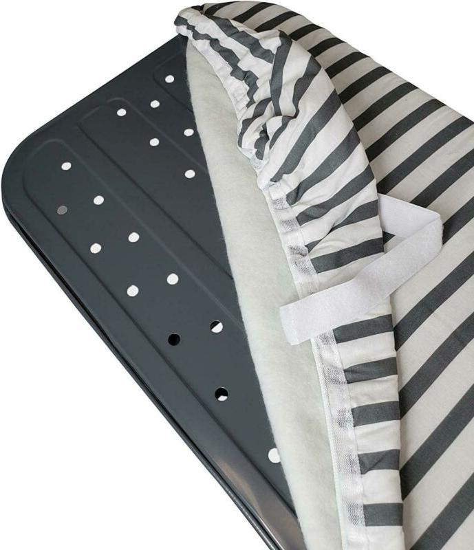 Ironing Board and Pad, Grey/White
