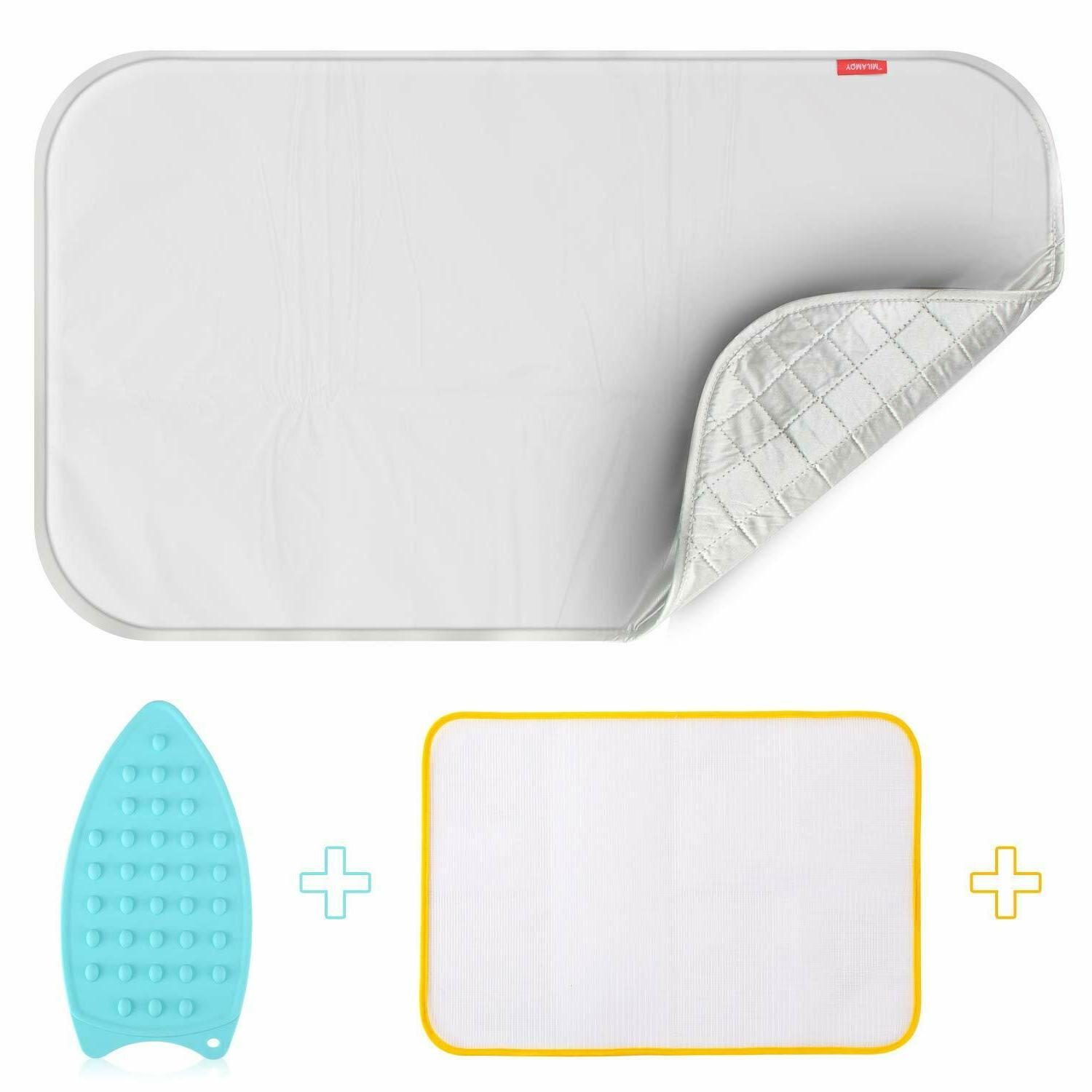 Ironing Board Cover W/Pad Inside Fit All Standard Scorch Res