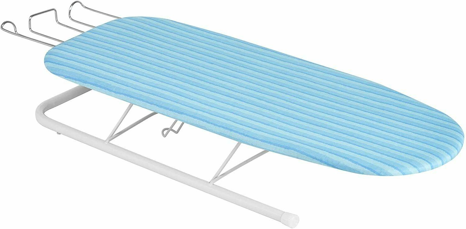 Honey-Can-Do Tabletop Ironing Board with Retractable Iron Re