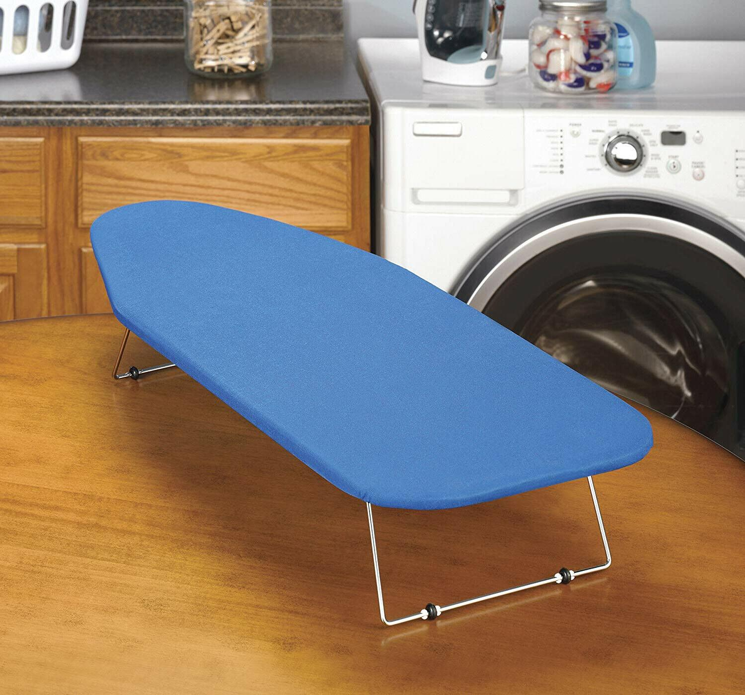 Tabletop Board Small Iron Small Spaces Folding Cover