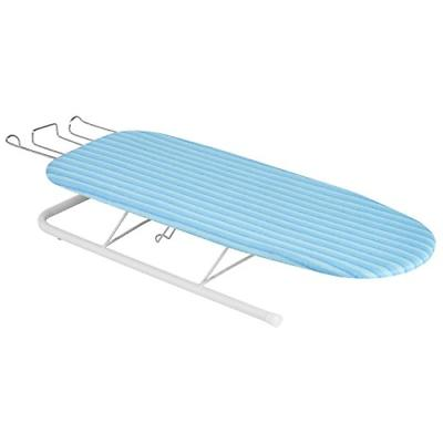 compact tabletop ironing board small folding iron