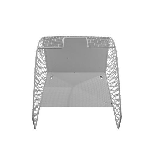 Spectrum Wall Mount Single Basket Holder,