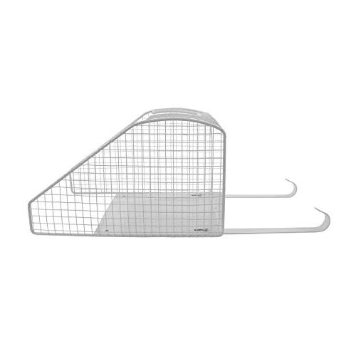 Spectrum Wall Mount Basket with Ironing Board Holder,