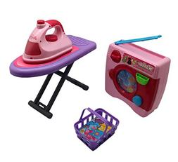 Forest & Twelfth Kids Laundry Set for Kids, Washer & Iron Se