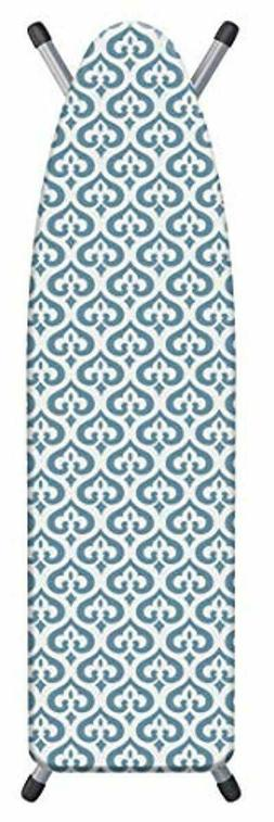 Laundry Solutions Non-Skid Portable Paisley Design Ironing Board Pad 20 x 29 Blue