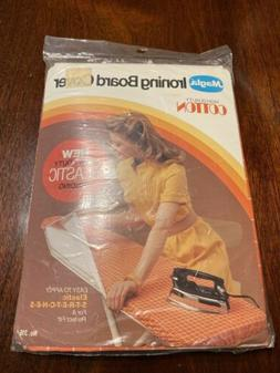 NEW Vintage Magla Ironing Board Cover Color Cote 1981 Grid O