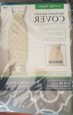 NWT-Extra Wide Ironing Board Cover And Pad Retail in store $