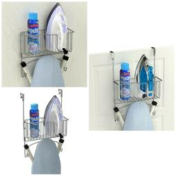 Simple Houseware Over-The-Door/Wall-Mount Ironing Board Hold