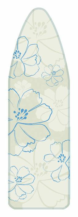 BAJER PERFECT FIT IRONING BOARD COVER & PAD GREEN FLORAL