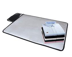 HOMILA Portable Ironing Mat with Silicone Pad,Ironing Blanke