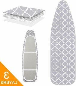 Scorch Resistance Ironing Board Cover and Pad Resists Scorch