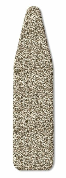 Whitmor Scorch Resistant Ironing Board Cover and Pad, Squigg