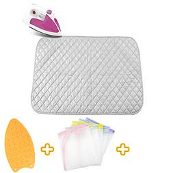 Upgraded Thick Ironing blanket,Travel Ironing Mat Ironing Pa