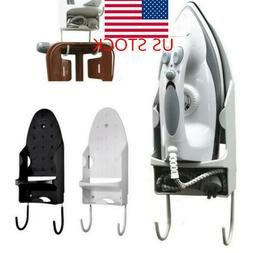 US Ironing Board Holder Hanger Rack Wall Mount Storage Rack