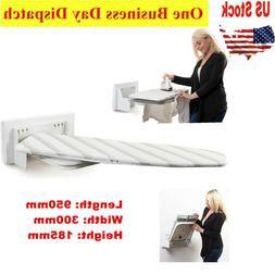 Wall-Mounted Foldable Ironing Board Swivel Complete Set W/ F