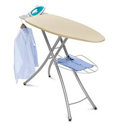 Homz Professional Wide Steel Top Ironing Board, Light Tan Co