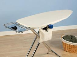 WIDE TOP IRONING BOARD Cover & Pad Natural 48 - 49 x 18 ** F