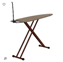 Household Essentials Wooden Frame Ironing Board in Brown