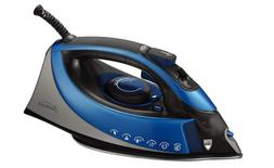XL-size Clothing Iron - Auto-Off Turbo Steam 1500 Watt Anti-